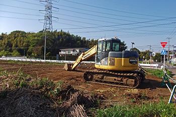 土工事・整地工事・地盤工事