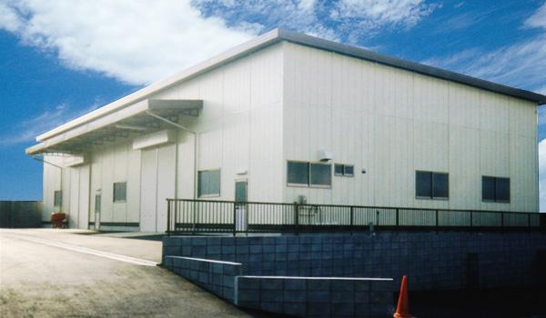 倉庫用大型プレハブ